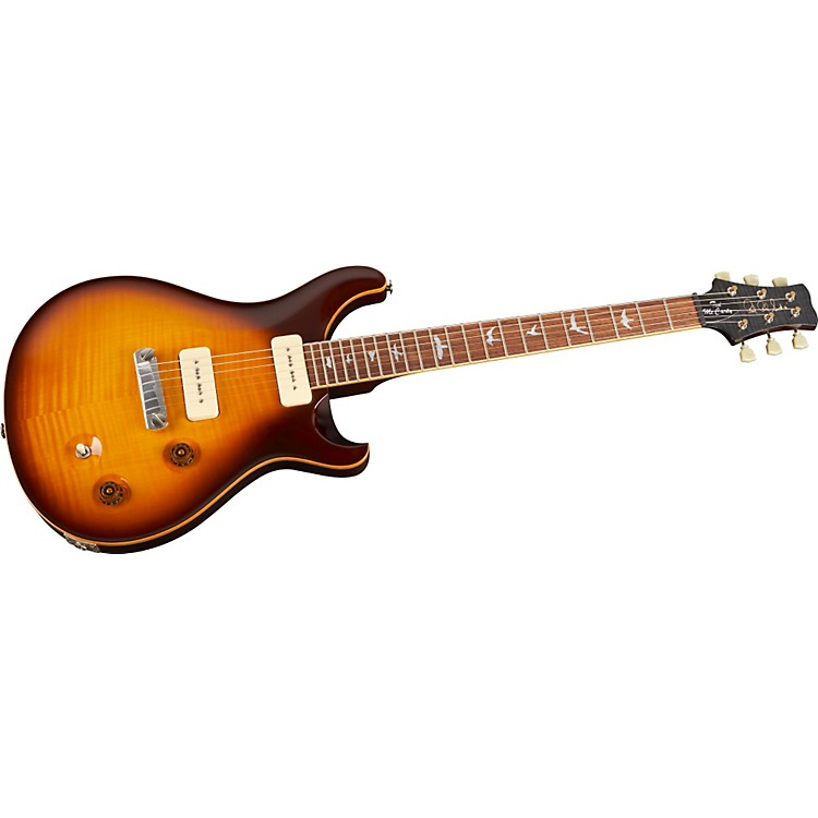 PRS Ted McCarty DC 245 Soapbar Electric Guitar McCarty Tobacco Sunburst