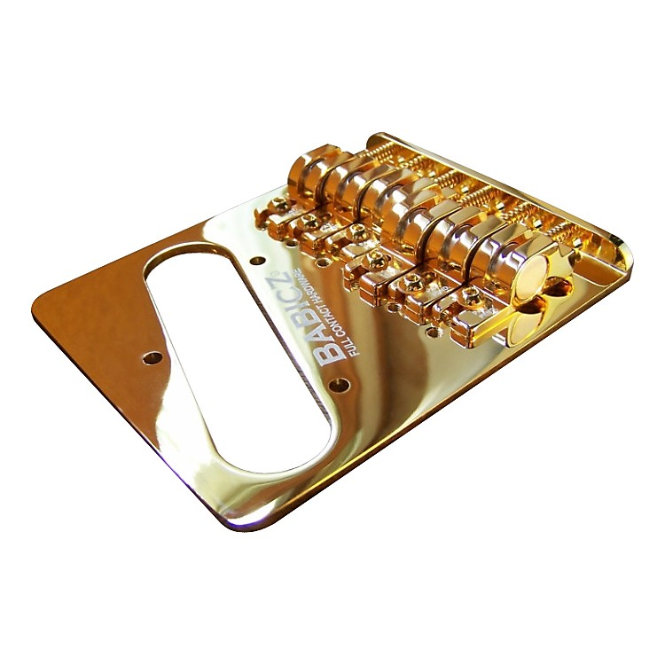 Full Contact Hardware Telecaster Bridge Gold