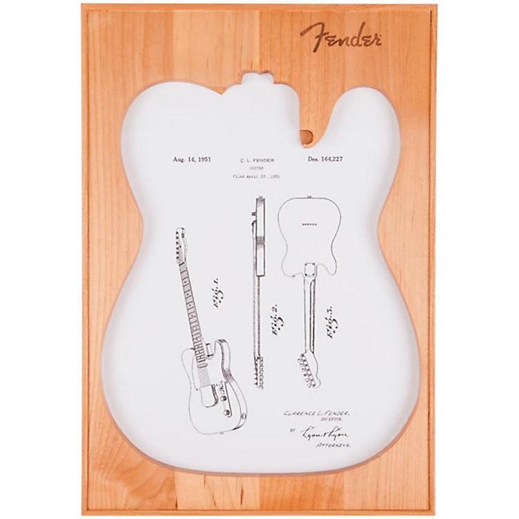 FenderTelecaster Framed PrintWhite