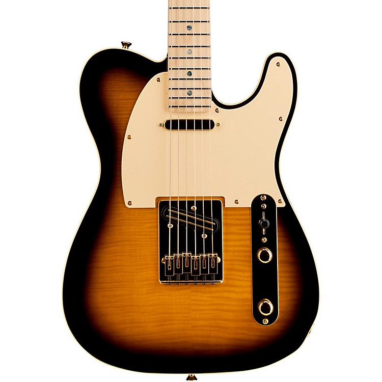 Fender Telecaster Richie Kotzen Solid Body Electric Guitar Brown Sunburst