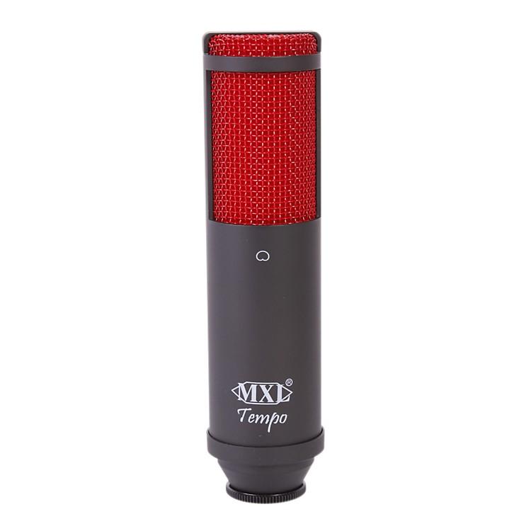 MXLTempo USB Condenser MicrophoneBlack, Red Grill