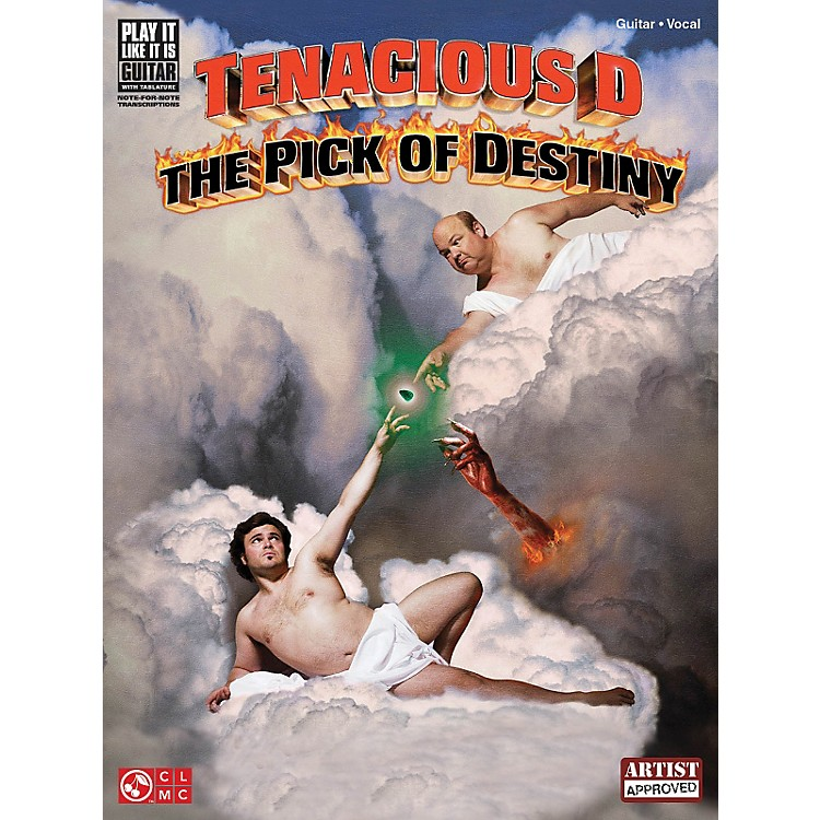 Cherry Lane Tenacious D - The Pick of Destiny Play It Like It Is Guitar Tab Songbook
