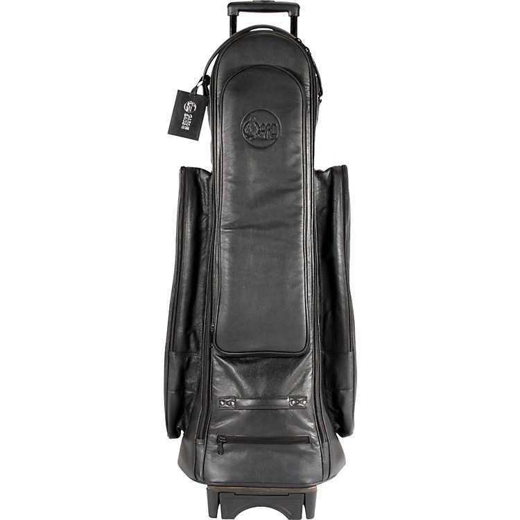 Gard Tenor Trombone Wheelie Bag 22-WBFLK Black Ultra Leather