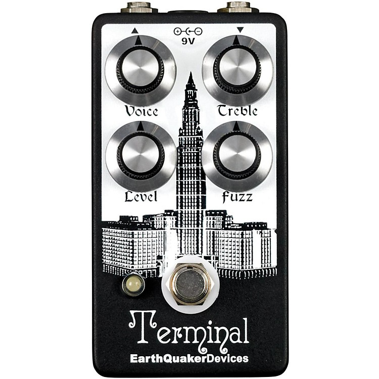 EarthQuaker Devices Terminal Fuzz Guitar Effects Pedal