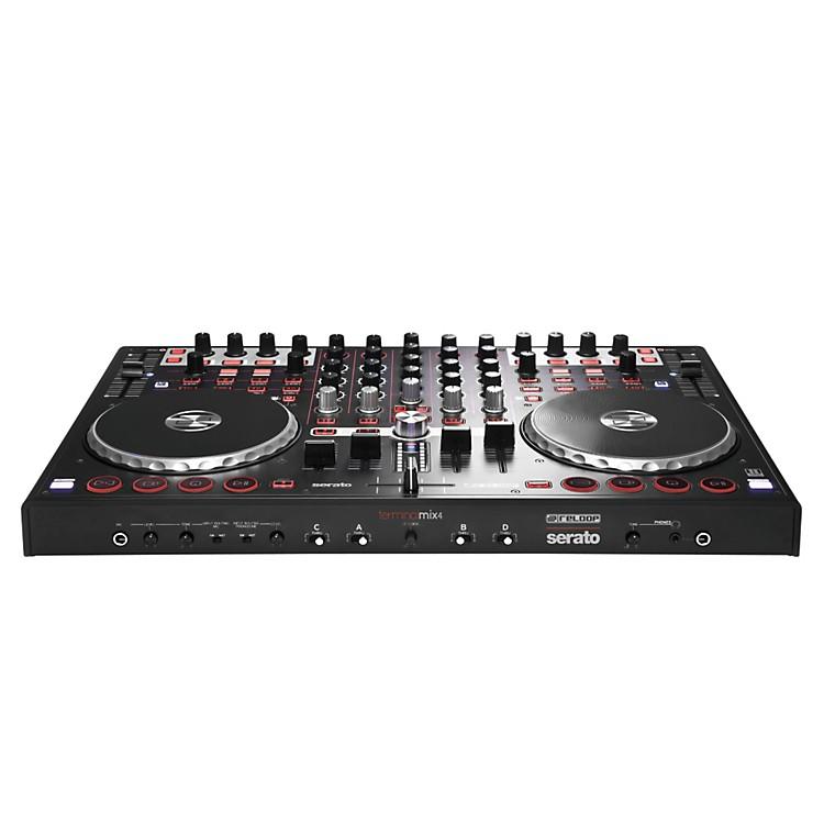 ReloopTerminal Mix 4 DJ+ Controller Bundle