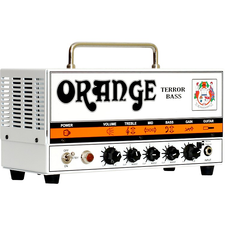 Orange Amplifiers Terror Bass 500 Series BT500H 500W Bass Amp Head Orange