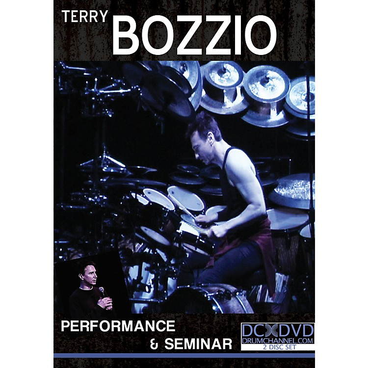 The Drum Channel Terry Bozzio - Performance & Seminar 2 DVDs