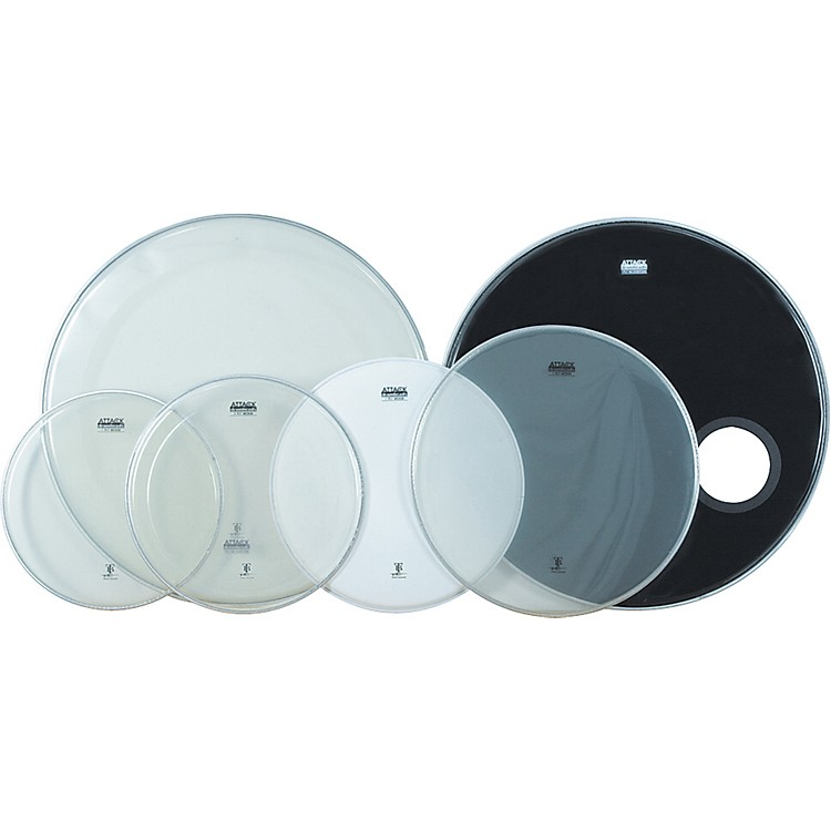 AttackTerry Bozzio Drumhead 6-Pack