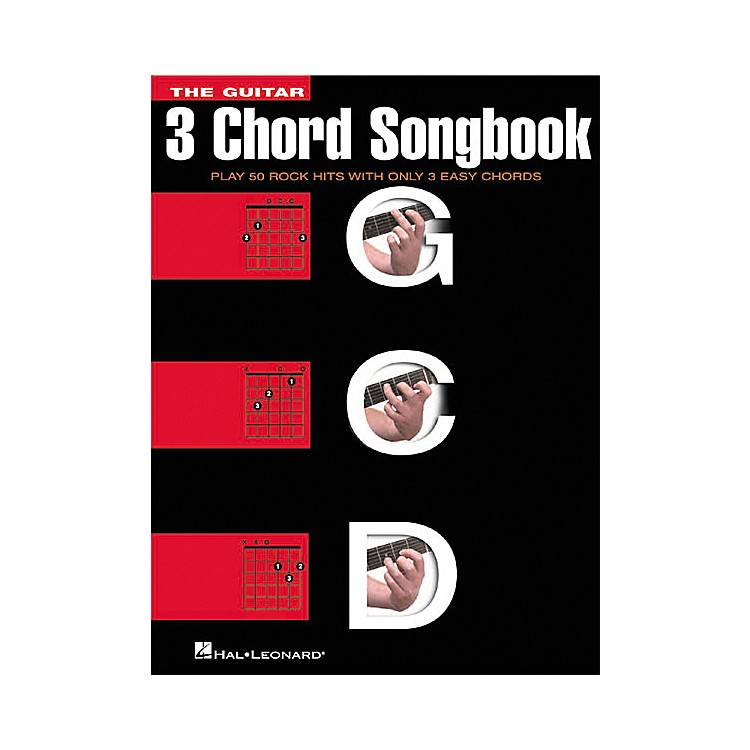 Hal Leonard The 3 Chord Guitar Tab Songbook