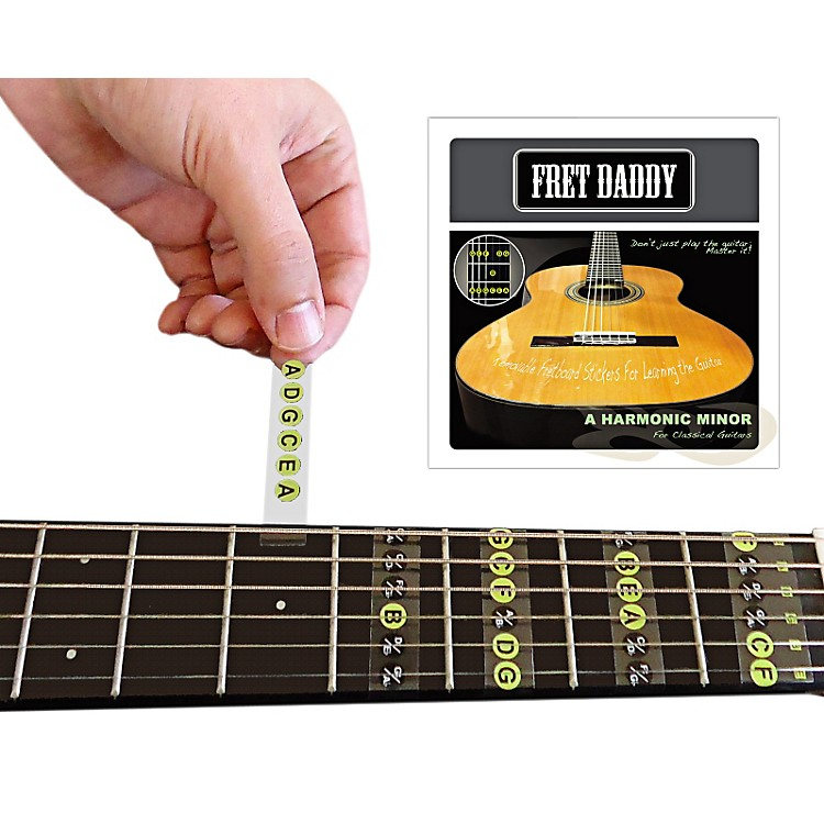 Fret DaddyThe A Harmonic Minor Scale for Classical Guitar
