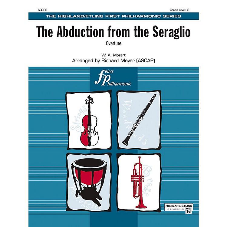 AlfredThe Abduction from the Seraglio Full Orchestra Grade 2