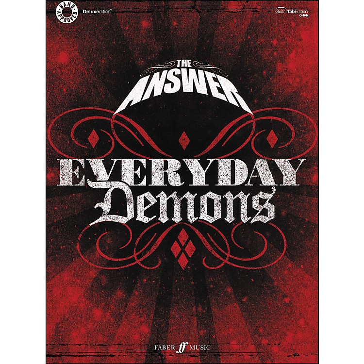 Hal Leonard The Answer - Everyday Demons Tab Book