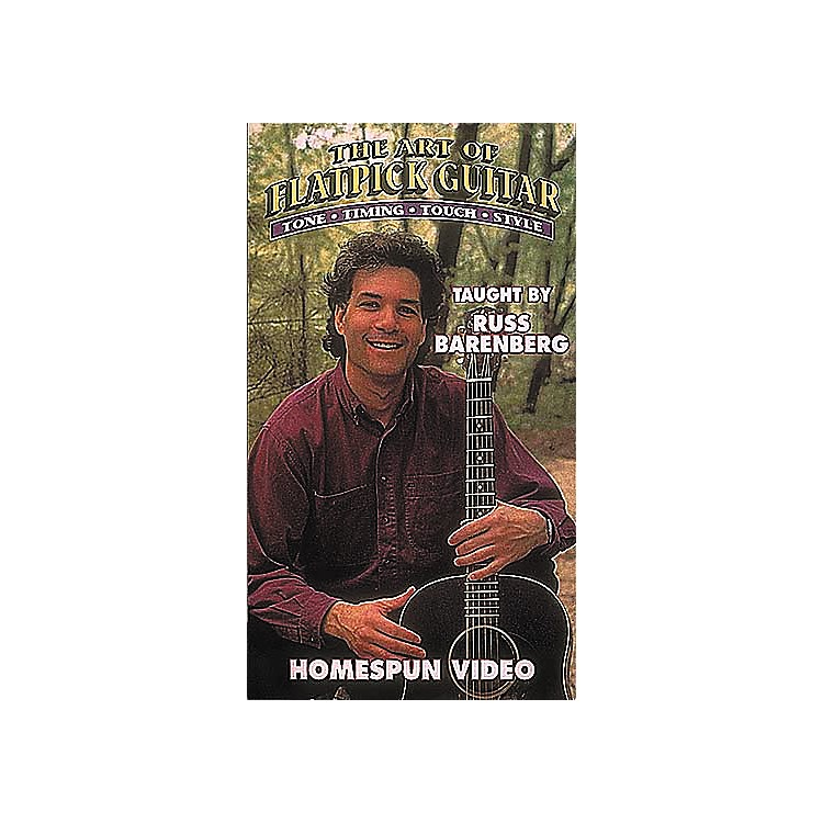 Homespun The Art of Flatpick Guitar (VHS)