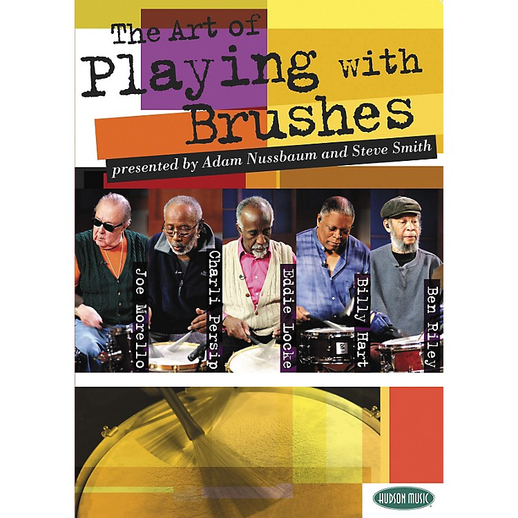 Hudson Music The Art of Playing With Brushes 2 DVDs with Play-Along CD and Booklet