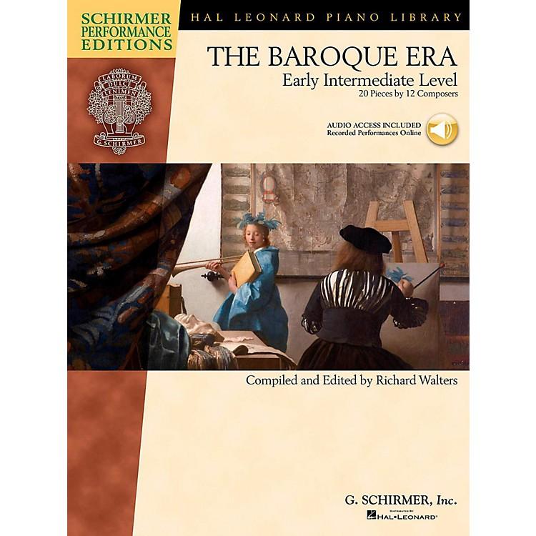 G. SchirmerThe Baroque Era - Early Intermediate Level Schirmer Performance Editions Book Online Audio Access
