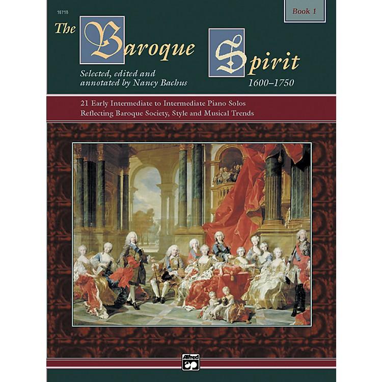AlfredThe Baroque Spirit Book 1 Book 1 & CD