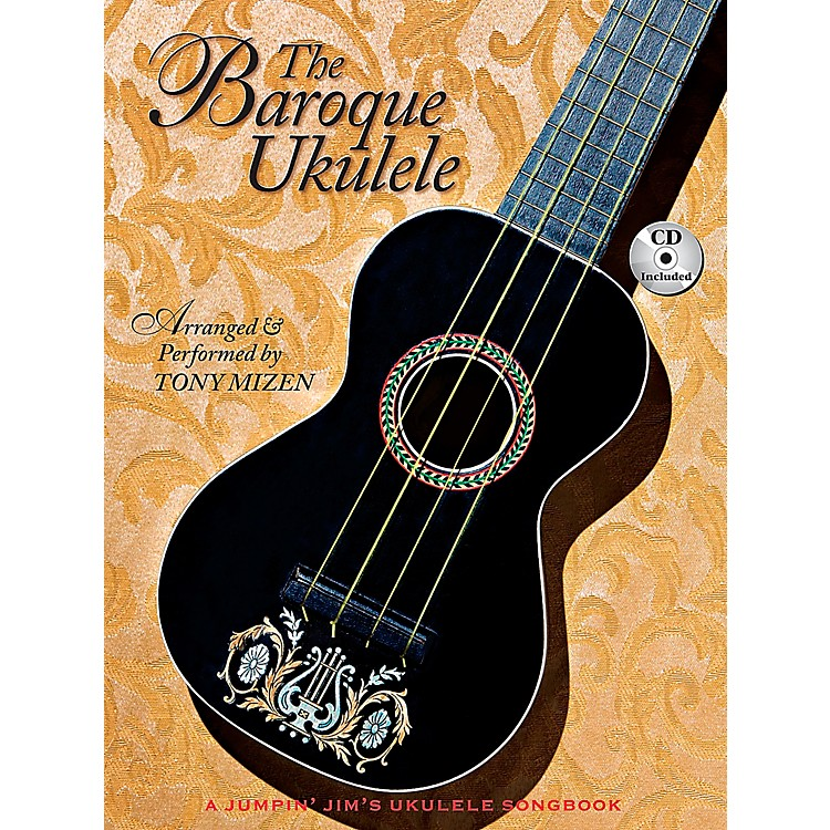 Hal Leonard The Baroque Ukulele - A Jumpin' Jim's Ukulele Songbook Book/CD