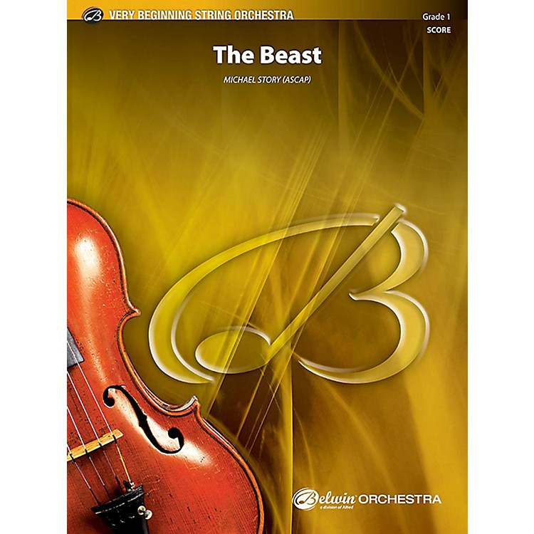 AlfredThe Beast String Orchestra Grade 1 Set