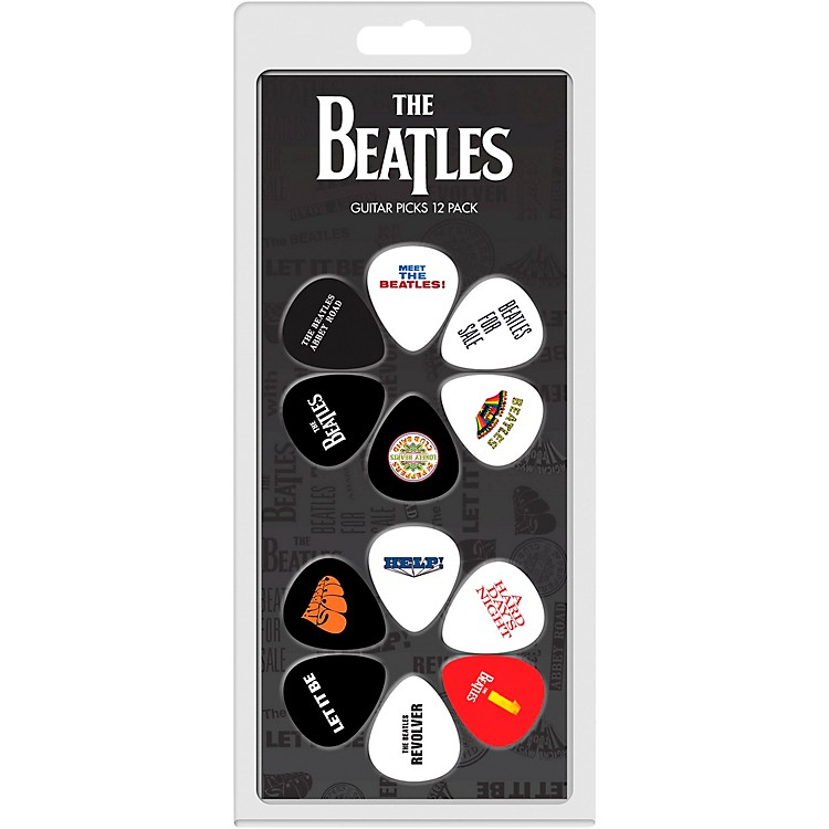 Perri'sThe Beatles - 12-Pack Guitar PicksVarious Albums