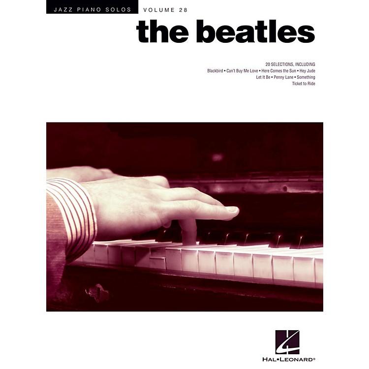 Hal LeonardThe Beatles - Jazz Piano Solos Series Vol. 28