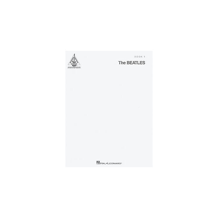 Hal LeonardThe Beatles - The White Album Guitar Tab Book 1