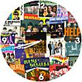 "Vandor The Beatles 13.5"" Cordless Wall Clock"