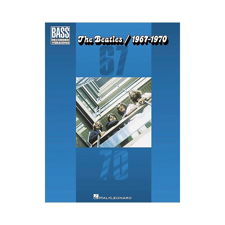 Hal LeonardThe Beatles 1967-1970 Bass Guitar Tab Songbook