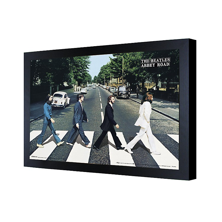 Ace Framing The Beatles Abbey Road 3D Framed Poster