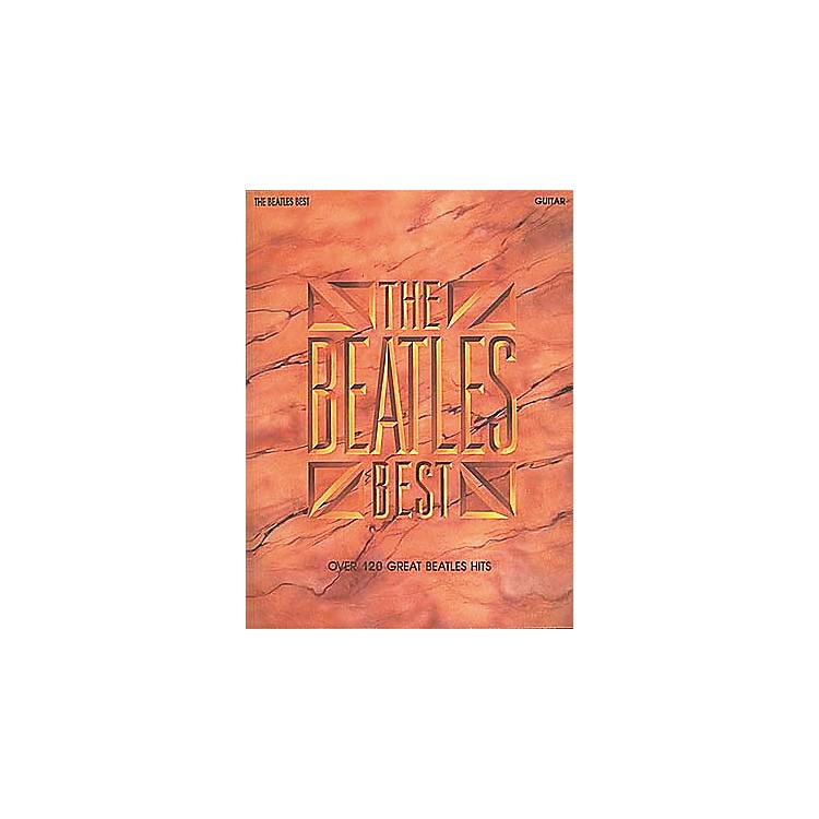 Hal Leonard The Beatles Best Guitar Songbook