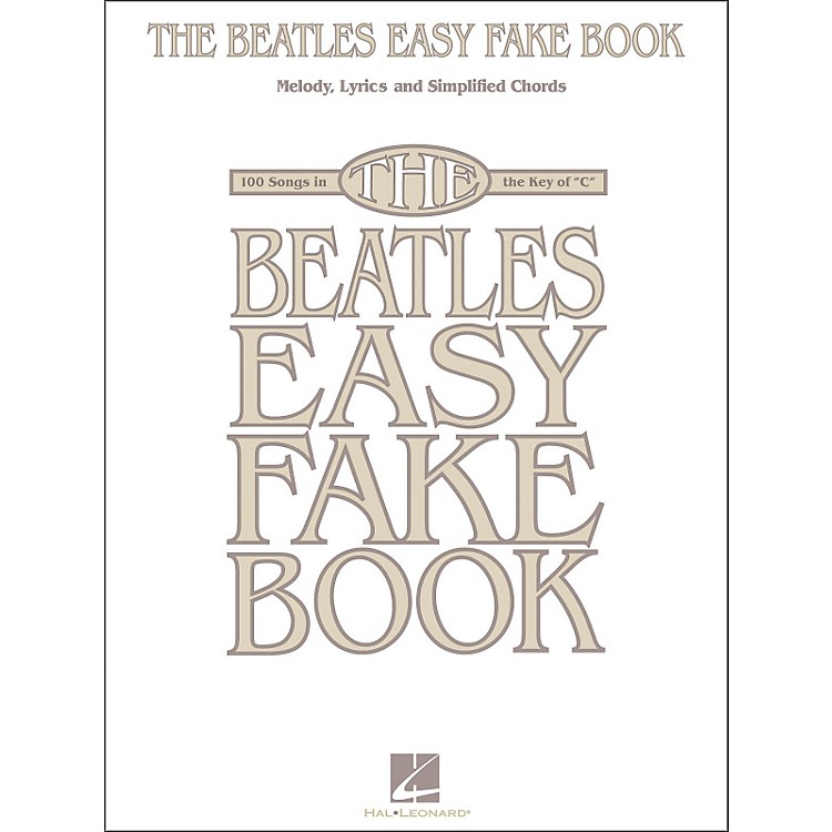 Hal Leonard The Beatles Easy Fake Book