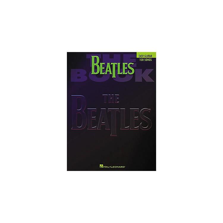 Hal LeonardThe Beatles Easy Guitar Tab Book