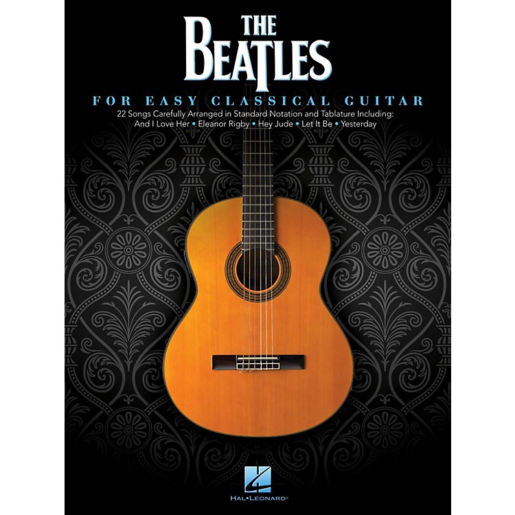 Hal LeonardThe Beatles For Easy Classical Guitar (With Tab)