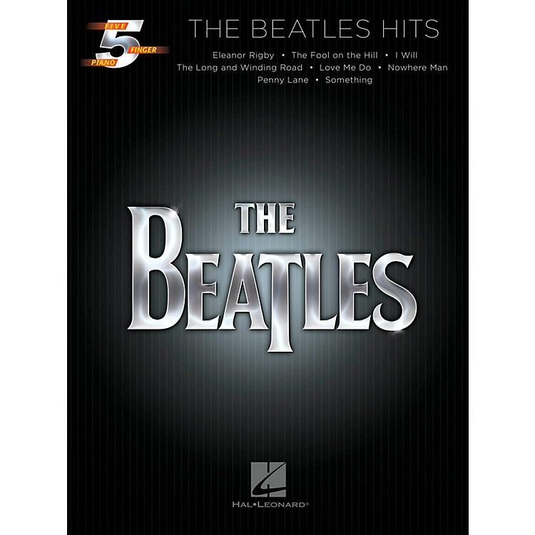 Hal Leonard The Beatles Hits For Five-Finger Piano