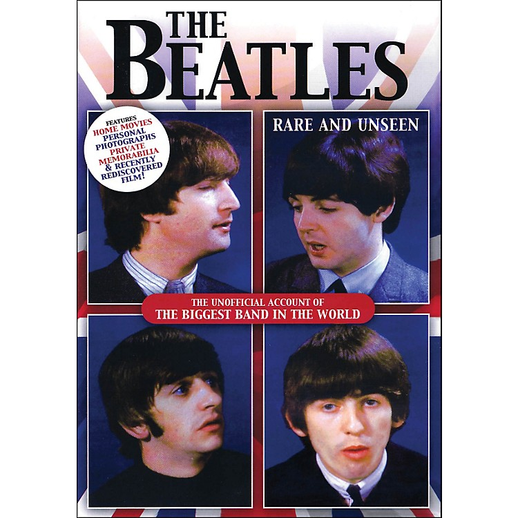 Hal LeonardThe Beatles Rare And Unseen The Unofficial Account Of The biggest Band In The World DVD