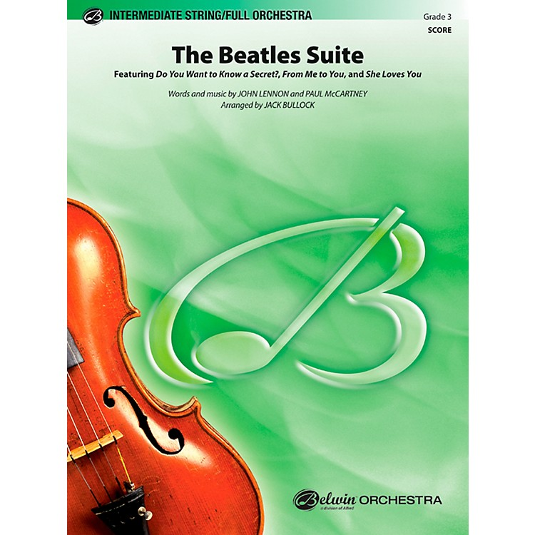 Alfred The Beatles Suite Full Orchestra Grade 3 Set