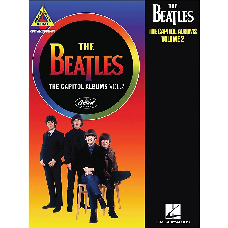 Hal LeonardThe Beatles: The Capitol Albums Volume 2 Guitar Tab Songbook