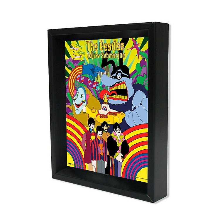 Ace Framing The Beatles Yellow Submarine Framed Artwork