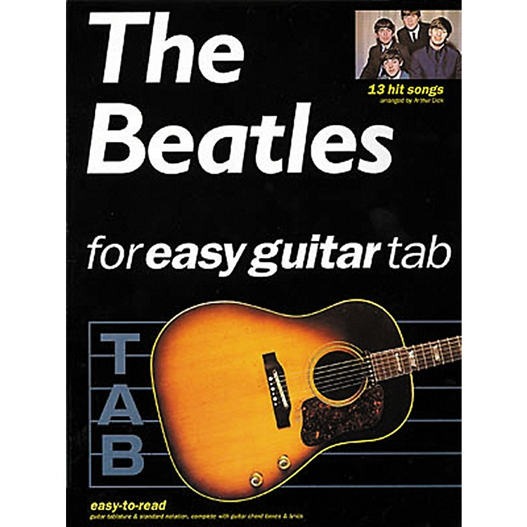 Hal Leonard The Beatles for Easy Guitar Tab Songbook