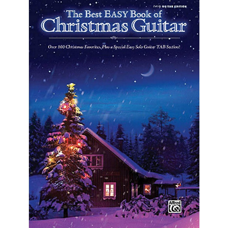 Hal Leonard The Best Easy Book Of Christmas Guitar Easy Guitar Tab Songbook
