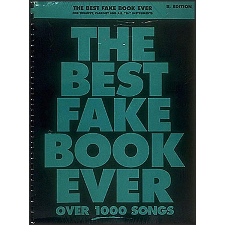 Hal Leonard The Best Fake Book Ever - Bb Edition