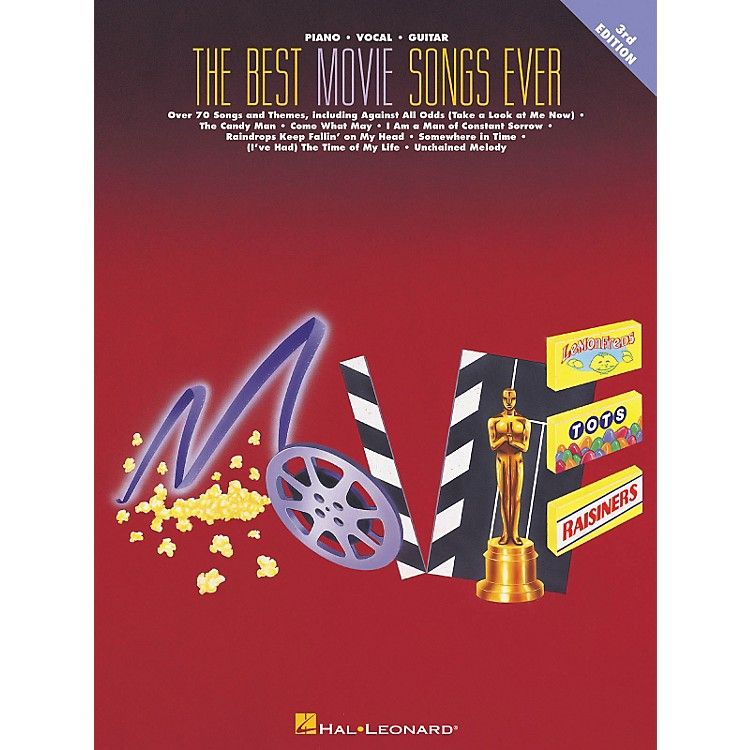 Hal LeonardThe Best Movie Songs Ever 3rd Edition Piano, Vocal, Guitar Songbook