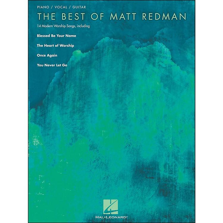 Hal LeonardThe Best Of Matt Redman arranged for piano, vocal, and guitar (P/V/G)