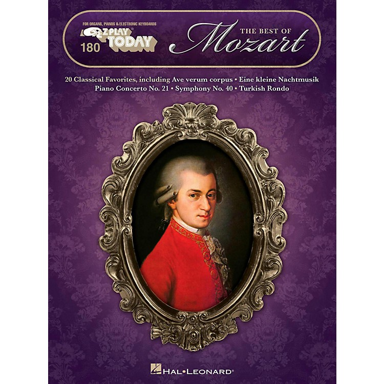 Hal Leonard The Best Of Mozart E-Z Play Today Volume 180