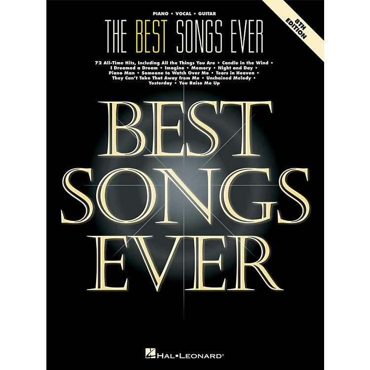 Hal Leonard The Best Songs Ever - 8th Edition Piano, Vocal, Guitar Songbook