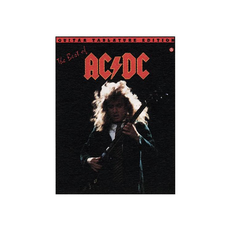 Music SalesThe Best of AC/DC Guitar Tab Book