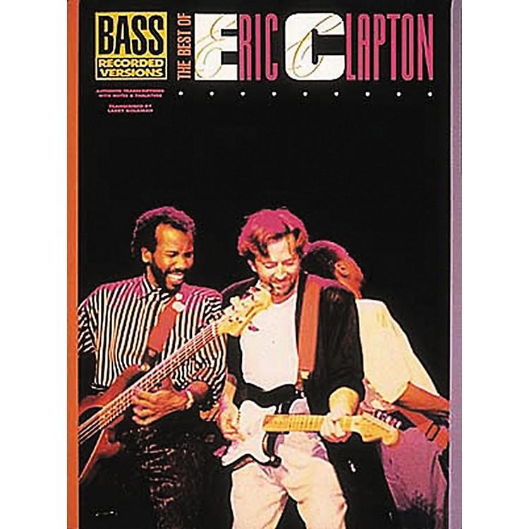 Hal LeonardThe Best of Eric Clapton Bass Guitar Tab Songbook