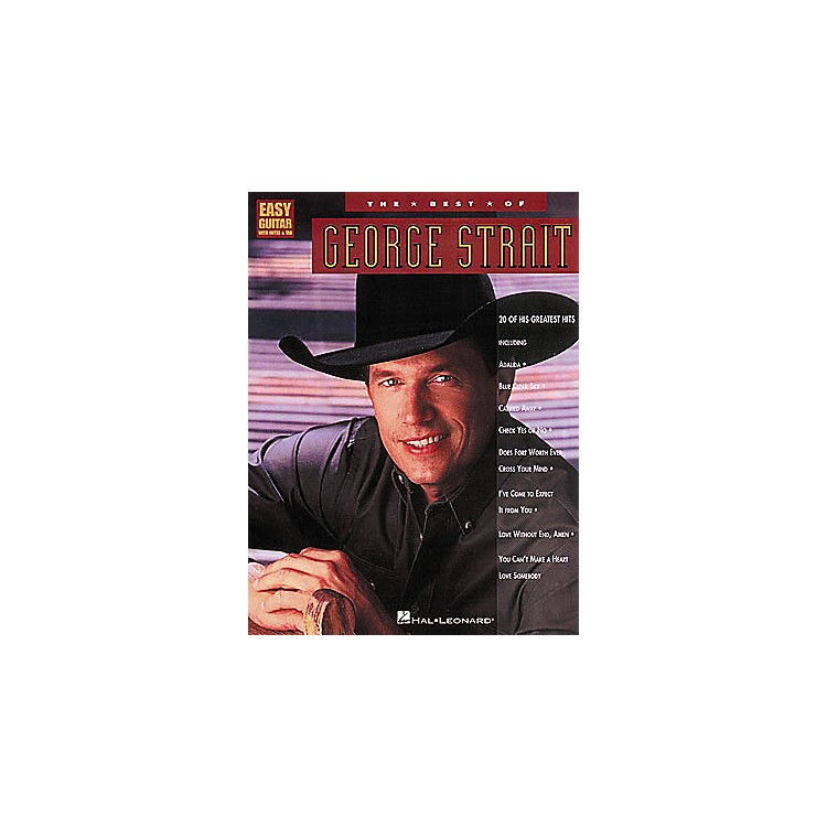 Hal Leonard The Best of George Strait Guitar Tab Book