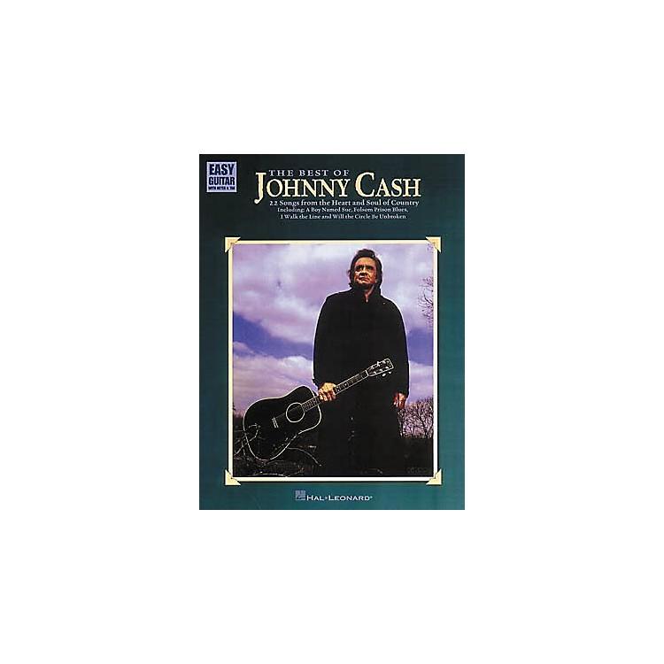 Hal LeonardThe Best of Johnny Cash Easy Guitar Tab Book