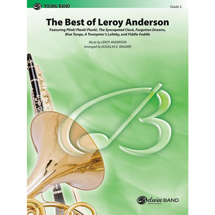 Alfred The Best of Leroy Anderson Concert Band Grade 2