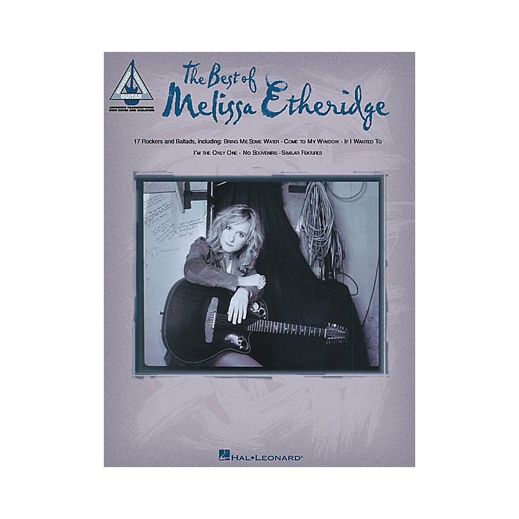 Hal LeonardThe Best of Melissa Etheridge Guitar Tab Songbook